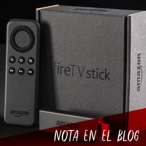 ¡Amazon Fire TV Stick ya está en BLU Store!
